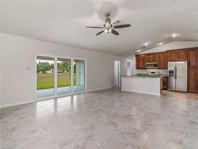 Cape Coral Single Family Home For Sale: 4124 NW 25th Ter