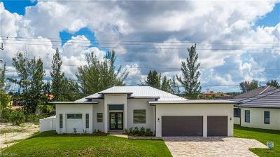 Cape Coral Single Family Home For Sale: 1607 N Old Burnt Store Road