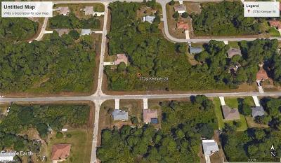 Fort Myers Residential Lots & Land For Sale: 3734 Kemper St