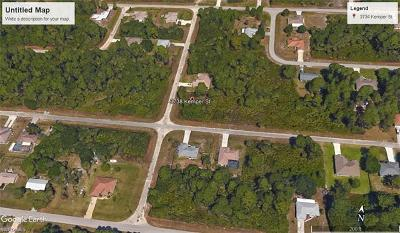 Fort Myers Residential Lots & Land For Sale: 3738 Kemper St
