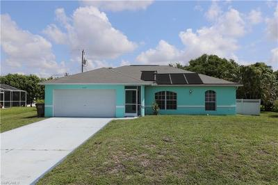 Cape Coral Single Family Home For Sale: 1309 SW 14th Ter