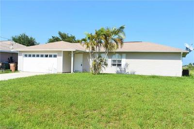 Cape Coral Single Family Home For Sale: 1127 NW 4th Pl
