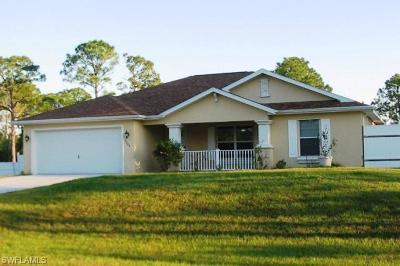 Lehigh Acres Single Family Home For Sale: 5404 Billings St