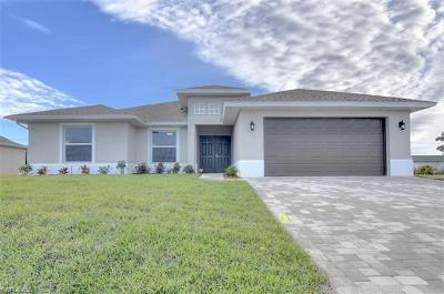 Cape Coral, Fort Myers, Fort Myers Beach, Estero, Bonita Springs, Naples, Sanibel, Captiva Single Family Home For Sale: 2412 NW 8th Pl