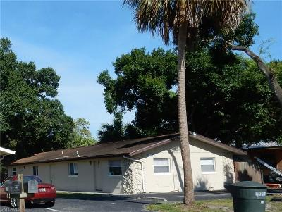 Fort Myers Multi Family Home For Sale: 1011-1013 Polk St