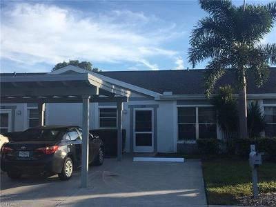 Fort Myers Condo/Townhouse For Sale: 6805 Sandtrap Dr #112