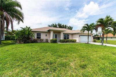 Cape Coral Single Family Home For Sale: 2513 SW 32nd St