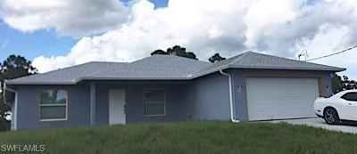 Lehigh Acres Single Family Home For Sale: 3514 74th St W