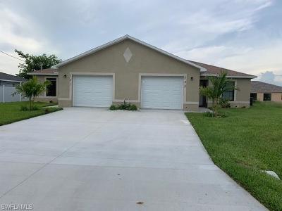 Cape Coral Multi Family Home For Sale: 721 SE 5th St