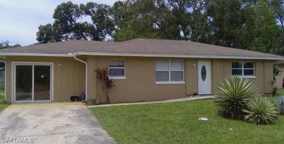 Fort Myers Single Family Home For Sale: 4811 Zana Dr