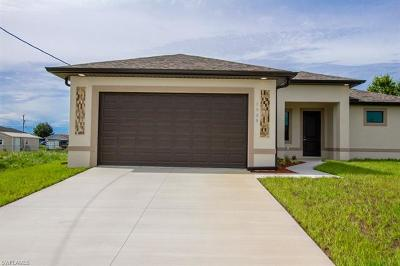 Lehigh Acres Single Family Home For Sale: 3908 11th St SW