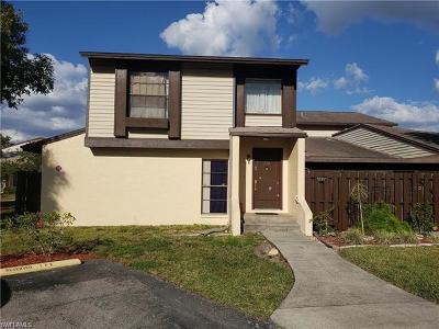Cape Coral Condo/Townhouse Pending With Contingencies: 627 SE 12th Ave #128