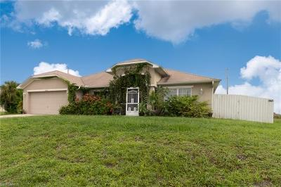 Cape Coral Single Family Home For Sale: 1836 NW 24th Ter