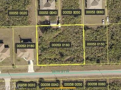 Lehigh Acres Residential Lots & Land For Sale: 2710 58th St W