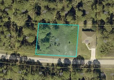 Lehigh Acres Residential Lots & Land For Sale: 1035 Maddock St E