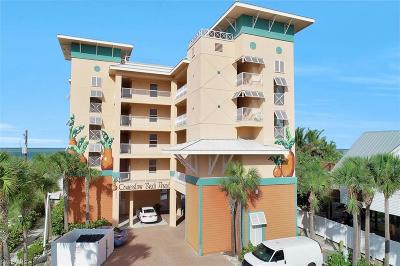 Fort Myers Beach Condo/Townhouse For Sale: 5480 Estero Blvd #201
