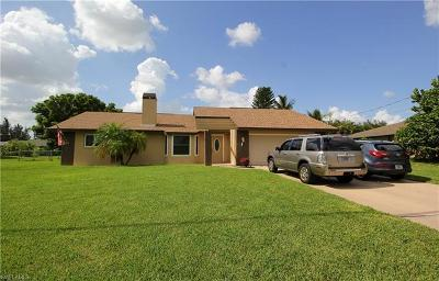 Cape Coral Single Family Home For Sale: 1145 SW 32nd Ter