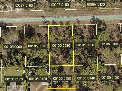 Lehigh Acres Residential Lots & Land For Sale: 2607 54th St W