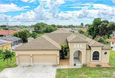 Cape Coral Single Family Home For Sale: 2003 Academy Boulevard
