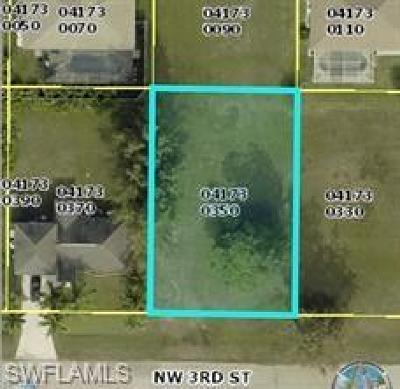 Cape Coral Residential Lots & Land For Sale: 3625 NW 3rd St