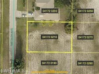 Cape Coral Residential Lots & Land For Sale: 305 NW 36th Ave