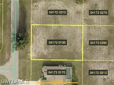 Cape Coral Residential Lots & Land For Sale: 301 NW 36th Ave