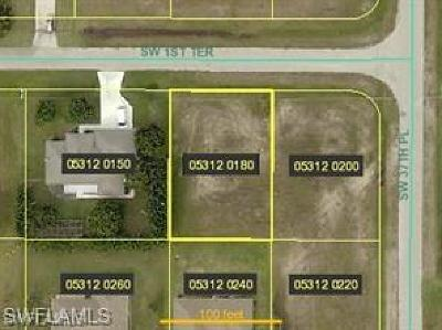Cape Coral Residential Lots & Land For Sale: 3720 SW 1st Ter