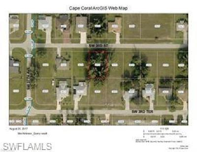 Cape Coral Residential Lots & Land For Sale: 3614 SW 3rd St