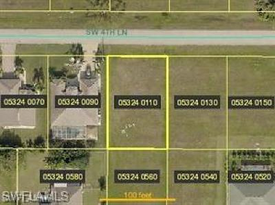 Cape Coral Residential Lots & Land For Sale: 3710 SW 4th Ln