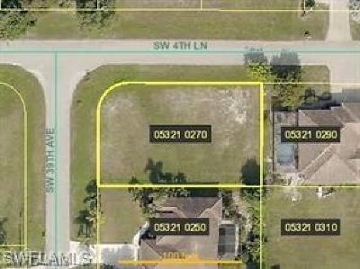 Cape Coral Residential Lots & Land For Sale: 415 SW 39th Ave