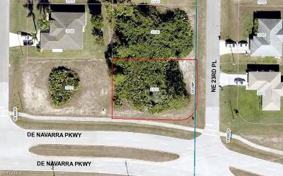 Cape Coral Residential Lots & Land For Sale: 3702 NE 23rd Pl