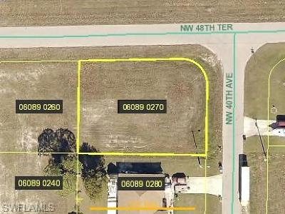 Cape Coral Residential Lots & Land For Sale: 4752 NW 40th Ave