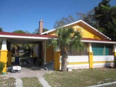Fort Myers Single Family Home For Sale: 2065 Canal St