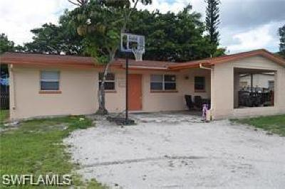 Fort Myers Single Family Home For Sale: 3530 Evans Ave