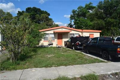 Fort Myers Multi Family Home For Sale: 2823 Meadow Ave