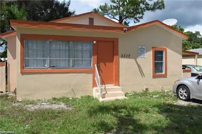 Fort Myers Single Family Home For Sale: 2337 Canal St