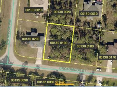 Lehigh Acres Residential Lots & Land For Sale: 409 Broadmoor St
