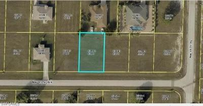 Cape Coral Residential Lots & Land For Sale: 1627 NW 11 Ter