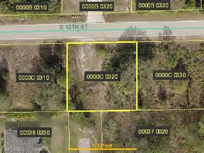 Lehigh Acres Residential Lots & Land For Sale: 1900 E 12th St