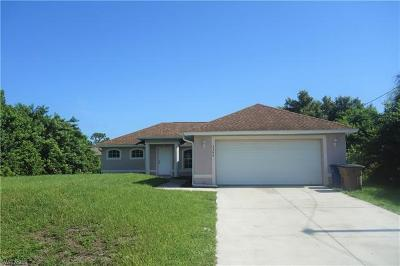 Lehigh Acres Single Family Home For Sale: 3306 13th St W