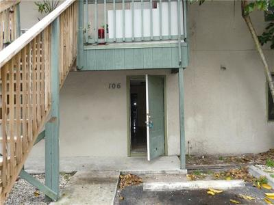 Fort Myers Condo/Townhouse For Sale: 824 Alderman St #106