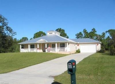 Cape Coral Single Family Home For Sale: 3223 Delilah Dr