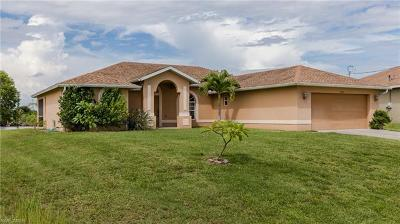 Cape Coral Single Family Home For Sale: 3235 NW 17th Lane