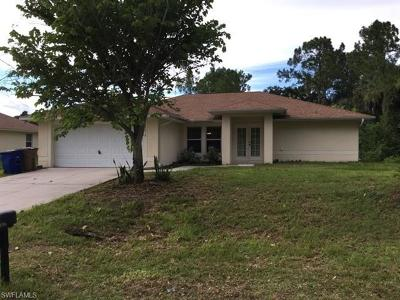 Lehigh Acres Single Family Home For Sale: 3016 20th St W