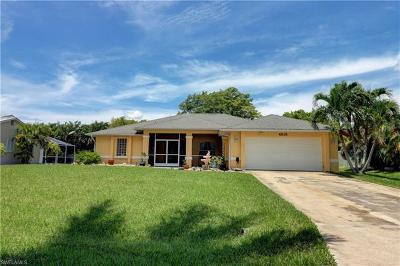 Cape Coral Single Family Home For Sale: 4818 SW 25th Pl