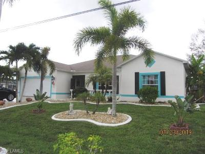 Cape Coral Single Family Home For Sale: 1926 NE 2nd Ter