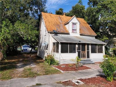 Fort Myers Single Family Home For Sale: 2123 Hoople St