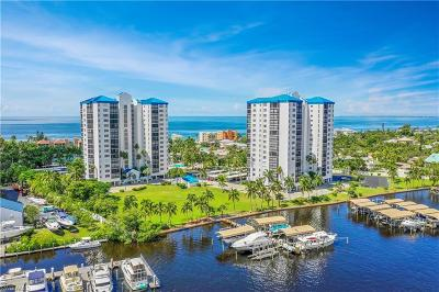Fort Myers Condo/Townhouse For Sale: 4745 Estero Blvd #1505