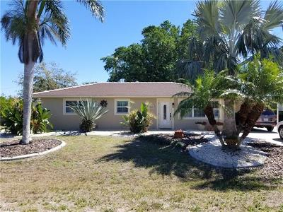 North Fort Myers Single Family Home For Sale: 1398 Sunrise Dr