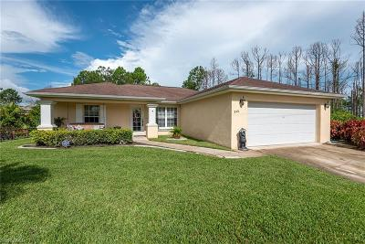 Lehigh Acres Single Family Home For Sale: 840 Harbour Ave S